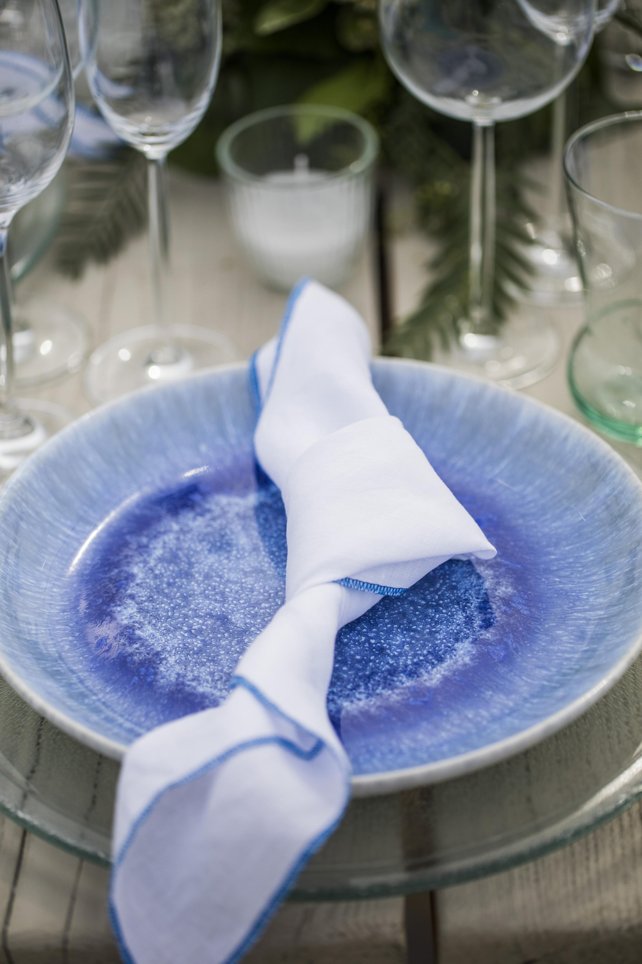 Blue plate set - Image 4