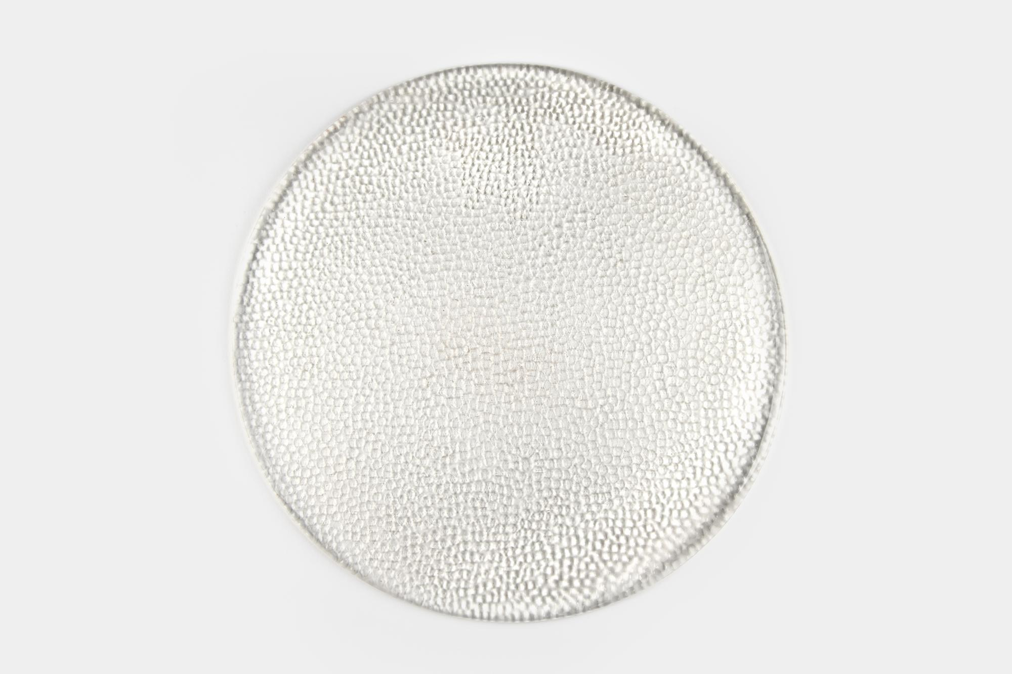 Flat bubble glass charger - Image 1